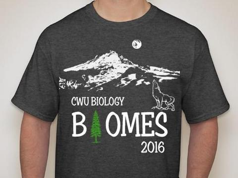 science, biomes,CWU Biomes 2016,clipart,lineart,line art,t-shirt,t-shrits,tee shrits,designs,silk,screen,teeshirts, screen-printing,embroidery,logo,mascot,Created for students who spent the summer studying the biomes of eastern WA ,,Cle Elum,WA,98922