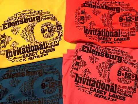 Cross country, XC, high school running,XC Invitational,clipart,lineart,line art,t-shirt,t-shrits,tee shrits,designs,silk,screen,teeshirts, screen-printing,embroidery,logo,mascot,Cross country shirts for a high school team's invitational.,,Cle Elum,WA,98922