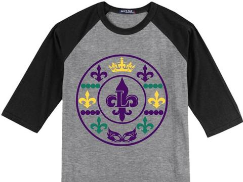 ,Mardi Gras Monogram,clipart,lineart,line art,t-shirt,t-shrits,tee shrits,designs,silk,screen,teeshirts, screen-printing,embroidery,logo,mascot,,CREOLE CREATIONS,SPRING,TX,77388