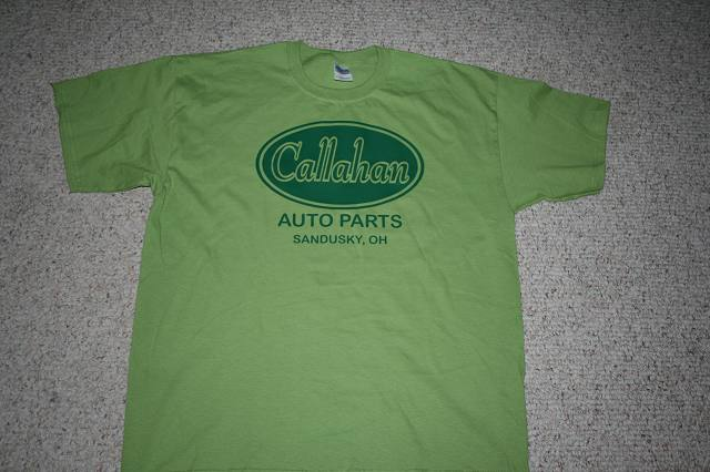 Movies, Auto,Callahan's Auto,clipart,lineart,line art,t-shirt,t-shrits,tee shrits,designs,silk,screen,teeshirts, screen-printing,embroidery,logo,mascot,My husband is a big fan of the movie Tommy Boy so I had to make him a Callahan's Auto shirt.  He loves it!,,St. Clair Shores,MI,48080
